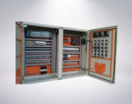 Control cabinet of the welder